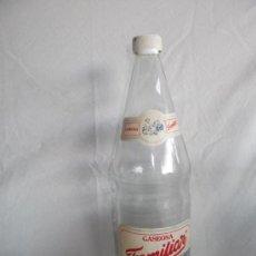 Botellas antiguas: BOTELLA GASEOSA FAMILIAR 1 LITRO. Lote 34183511