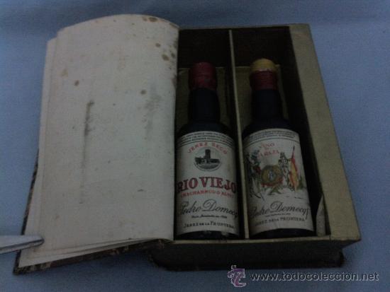 Botellas antiguas: Tratado sobre los vinos de jerez. Vinos de heroes gonzalez byass diciembre 1936.libro-botellero - Foto 2 - 34487450