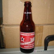 Botellas antiguas: BOTELLA CERVEZA DAMM. Lote 45646088