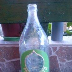Botellas antiguas: BOTELLA DE AGUA FONTECELTA, 1 LITRO. Lote 34889392