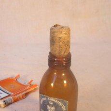 Botellas antiguas: BOTELLA DE LINIMENTO ANALGESICO. Lote 34900388