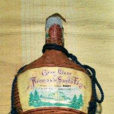Botellas antiguas: BOTELLA SIN ABRIR GRAN LICOR AROMAS DE SANTA FE. Lote 34923975