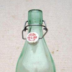 Botellas antiguas: BOTELLA DE GASEOSA ANTIGUA SAN ROQUE, GAS365 . Lote 35970283