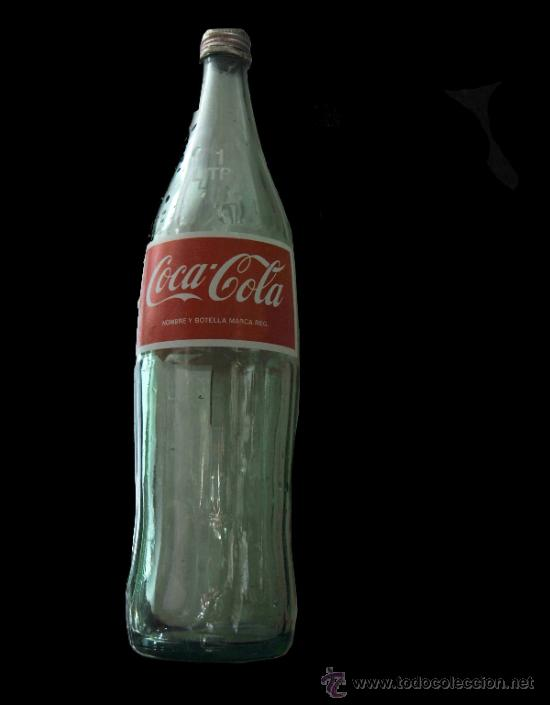 Coca Cola Botella De Vidrio 1 Litro Buy Antique Bottles At Todocoleccion 35923805