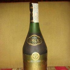 Botellas antiguas: BRANDY GOITISOLO RESERVA, RESERVA 10 AÑOS, PRECINTO 8 PTS., TAPÓN CORCHO.. Lote 35933845