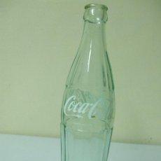 Botellas antiguas: BOTELLA DE COCA COLA. GRABADO EN RELIEVE 75 58 37 CRISTAL O VIDRIO CLARO. Lote 35981518
