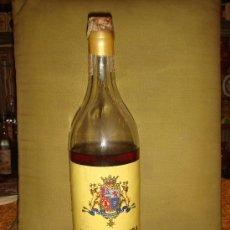 Botellas antiguas: ANTIGUA BOTELLA BRANDY EXTRA. M.MISA, S. A. PRECINTO 4 PTS., TAPÓN CORCHO.. Lote 36009519
