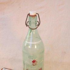 Botellas antiguas: BOTELLA DE GASEOSA LA CASERA. Lote 36078173