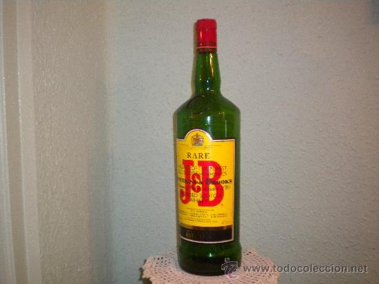 BOTELLÓN VACIO WHISKY JB (Coleccionismo - Botellas y Bebidas - Botellas Antiguas)