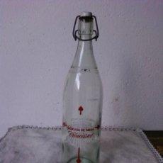 Botellas antiguas: BOTELLA DE GASEOSA MARCA TRIACASTEL DE TRIACASTELA (LUGO). Lote 36790408