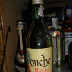 Botellas antiguas: BOTELLA DE PONCHE PARRA AÑOS 40. Lote 37040426