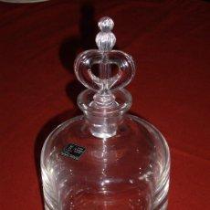 Botellas antiguas: BOTELLA CRISTAL SPIEGELAU GERMANY.. Lote 37381790