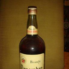 Botellas antiguas: RARA BOTELLA BRANDY RENOMBRE, SOLERA. SIN PRECINTO Y SIN ABRIR. TAPÓN ROSCA.. Lote 37417853