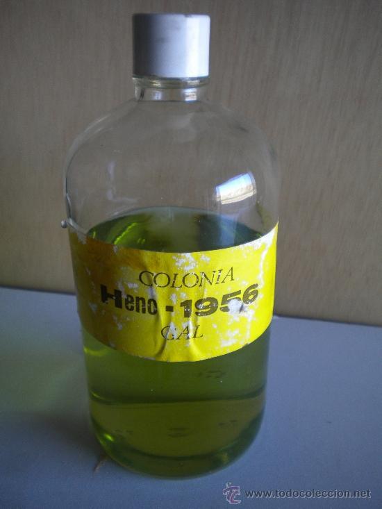 BOTELLA DE COLONIA HENO GRANEL (Coleccionismo - Botellas y Bebidas - Botellas Antiguas)