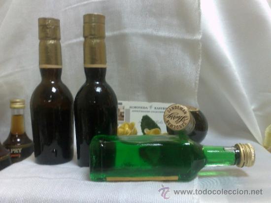 Botellas antiguas: COLECCIÓN DE 35 MINIATURAS DE BOTELLA DE LICOR. - Foto 4 - 37677706