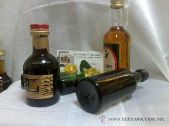 Botellas antiguas: COLECCIÓN DE 35 MINIATURAS DE BOTELLA DE LICOR. - Foto 6 - 37677706