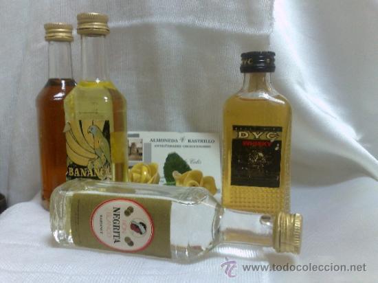 Botellas antiguas: COLECCIÓN DE 35 MINIATURAS DE BOTELLA DE LICOR. - Foto 7 - 37677706