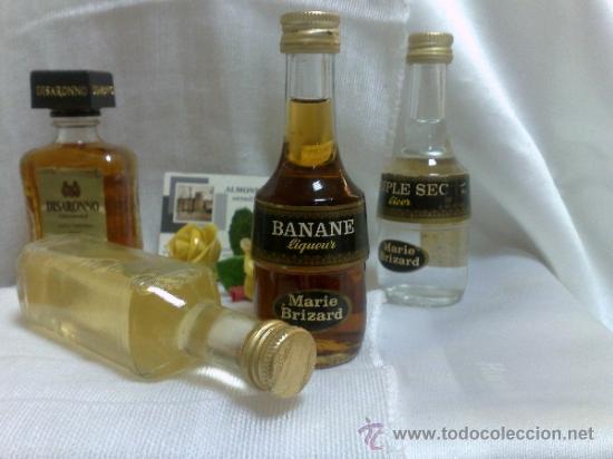 Botellas antiguas: COLECCIÓN DE 35 MINIATURAS DE BOTELLA DE LICOR. - Foto 12 - 37677706