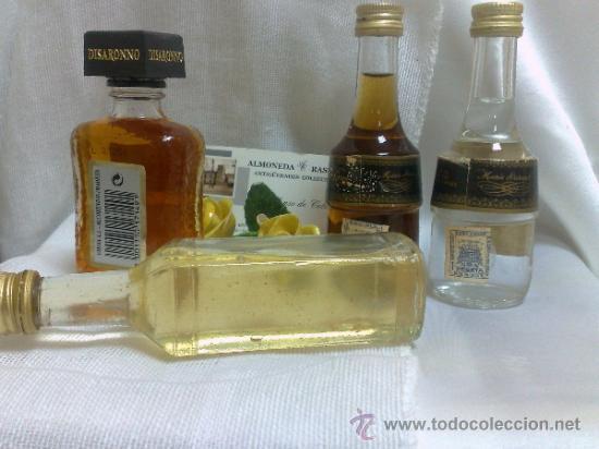 Botellas antiguas: COLECCIÓN DE 35 MINIATURAS DE BOTELLA DE LICOR. - Foto 13 - 37677706