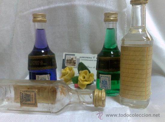 Botellas antiguas: COLECCIÓN DE 35 MINIATURAS DE BOTELLA DE LICOR. - Foto 18 - 37677706