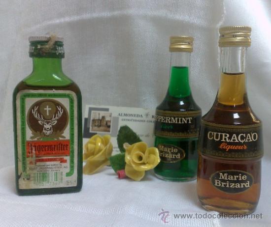 Botellas antiguas: COLECCIÓN DE 35 MINIATURAS DE BOTELLA DE LICOR. - Foto 22 - 37677706