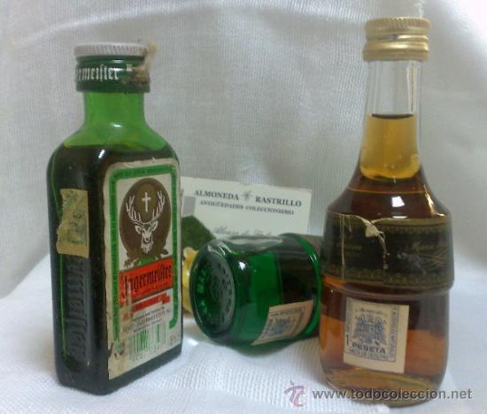 Botellas antiguas: COLECCIÓN DE 35 MINIATURAS DE BOTELLA DE LICOR. - Foto 23 - 37677706
