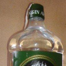 Botellas antiguas: BOTELLA LLENA GINEBRA ARPON GIN. Lote 37712890