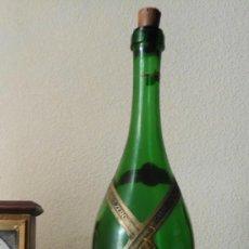 Botellas antiguas: MAGNIFICA BOTELLA ANTIGUA DE CAVA BRU ZERO ELABORADO POR CASTELLBLANCH . Lote 38112370