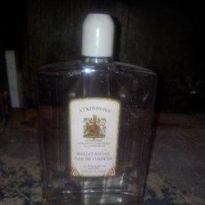 Botellas antiguas: ATKINSONS AGUA DE COLONIA. Lote 38221863