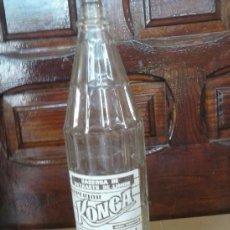 Botellas antiguas: ANTIGUA BOTELLA DE GASEOSA EXTRACTO DE LIMON KONGA.. Lote 38321281