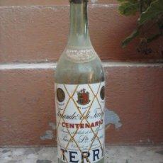 Botellas antiguas: ANTIGUA BOTELLA DE BRANDY TERRY, 1 LITRO, SELLO DE 4 PTAS., . Lote 38483801