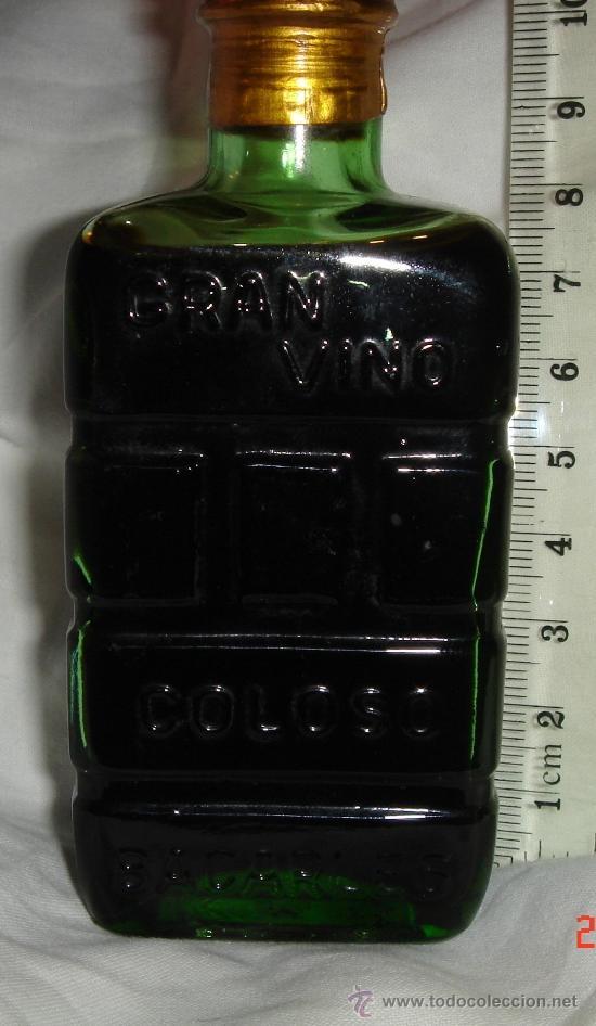 Botellas antiguas: mini botella botellin - Foto 4 - 38510105