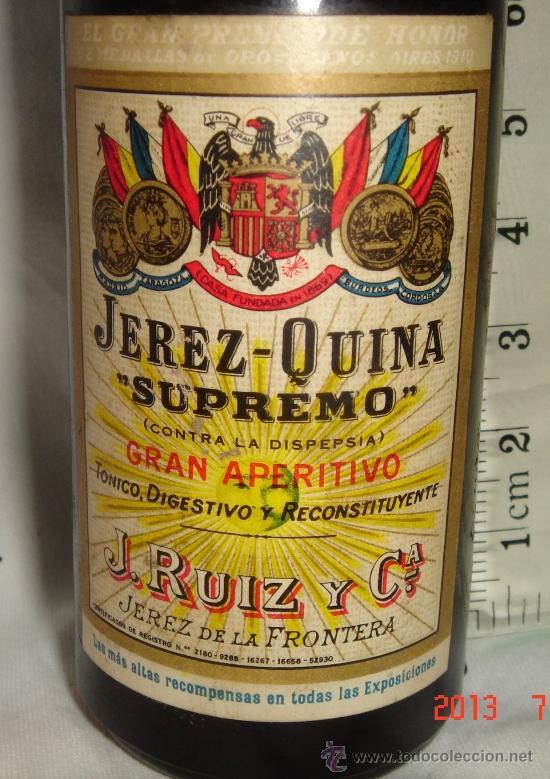 Botellas antiguas: mini botella botellin - Foto 2 - 38510534