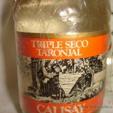 Botellas antiguas: MINI BOTELLA BOTELLIN CALISAY. Lote 38510717