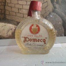 Botellas antiguas: BOTELLIN ANIS DULCE DOMECQ. Lote 38651209