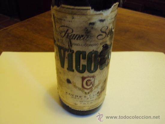 COCHS REUS (Coleccionismo - Botellas y Bebidas - Botellas Antiguas)