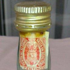 Botellas antiguas: MINI BOTELLA DE BRANDY SIGLO XIX. Lote 38826340
