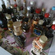 Botellas antiguas: COLECCIÓN DE 28 BOTELLAS ANTIGUAS. Lote 38905853