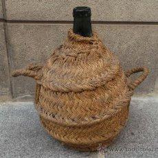 Botellas antiguas - GARRAFA ANTIGUA FORRADA DE ESPARTO - 39114515