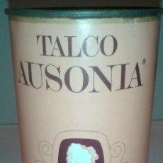 Botellas antiguas: ANTIGUO POTE DE POLVOS TALCO DE AUSONIA DE LOS AÑOS 60. Lote 39138723