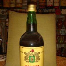 """Botellas antiguas: ANTIGUO Y RARO BOTELLÓN BRANDY """"SUPREMO"""". 2,250L. LLENO Y SIN ABRIR. SIN PRECINTO. TAPÓN ROSCA.. Lote 39173546"""