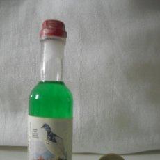Botellas antiguas: MINI BOTELLA, BOTELLIN EN MINIATURA. LIQUORE DI GENEPI MORANDINI .BOTELLITA. MINIBOTELLA.. Lote 39645329