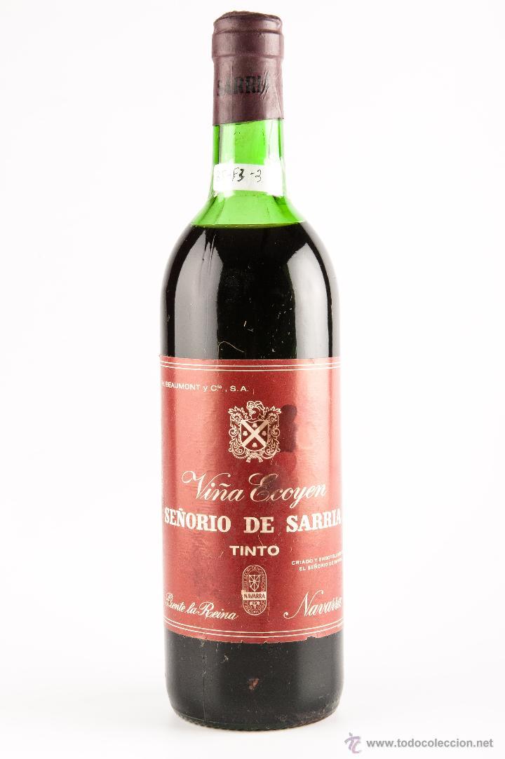 Botella vino tinto de navarra marca se orio de comprar - Botelleros de vino ...
