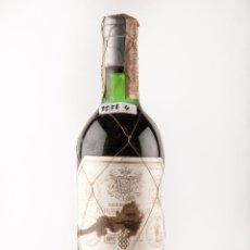 Botellas antiguas: BOTELLA VINO TINTO RIOJA, MARCA MARQUES DE RISCAL , VI-Nº308 (VINO DE COLECCION). Lote 40047339