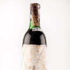 Botellas antiguas: BOTELLA VINO TINTO RIOJA, MARCA MARQUES DE RISCAL , AÑO 1971, VI-Nº308 (VINO DE COLECCION). Lote 40047375