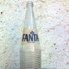 Botellas antiguas: BOTELLA FANTA SERIGRAFIADA. Lote 40151200