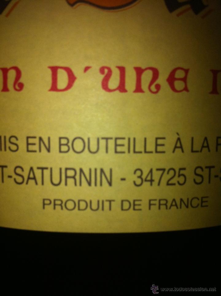 Botellas antiguas: BOTELLA DE VINO FRANCÉS DE 12 LITROS - Foto 2 - 40892556