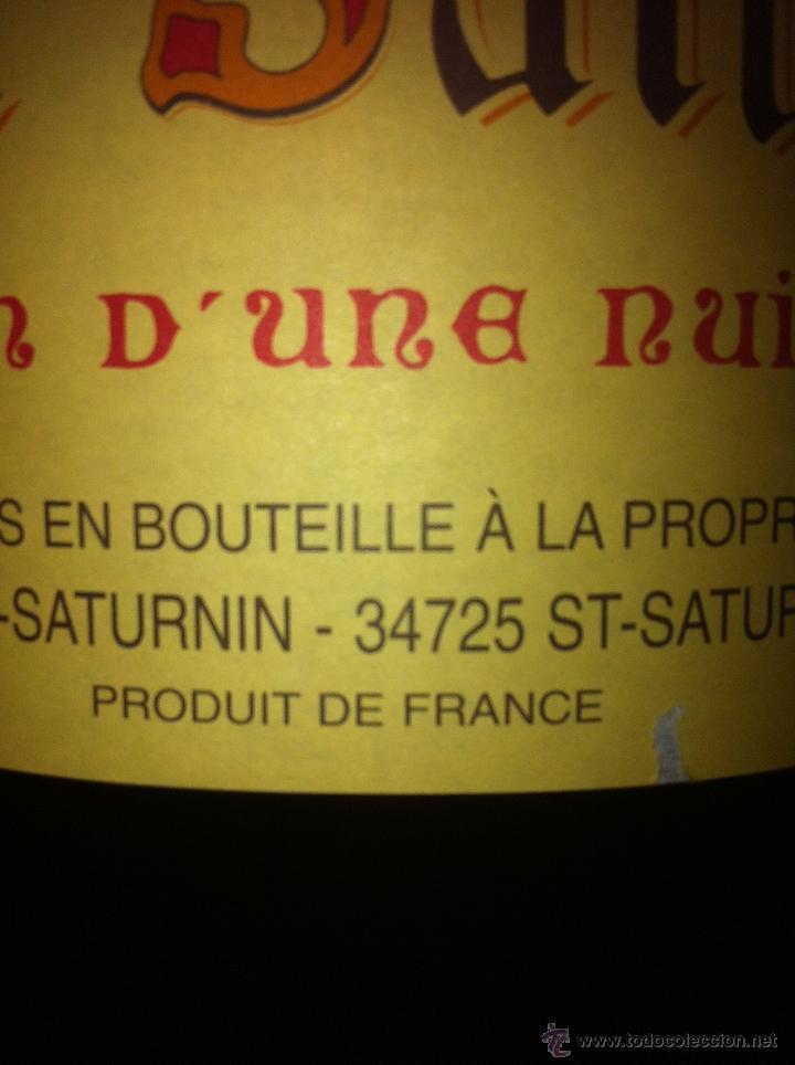 Botellas antiguas: BOTELLA DE VINO FRANCÉS DE 12 LITROS - Foto 3 - 40892556