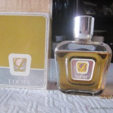 Botellas antiguas: COLONIA L DE LOEWE AÑOS 70'S DESCATALOGADA 120ML.. Lote 41035758