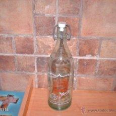Botellas antiguas: ANTIGUA BOTELLA DE ESPUMOSOS LA FLOR DE MURCIA (MURCIA).. Lote 41082238